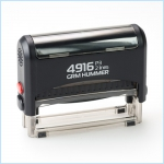 Штамп Автоматический 69х10 мм. 4916